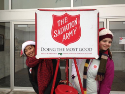 Red Kettle Bell Ringers